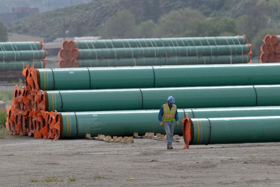 Trans Mountain compte entamer dès ce mois-ci le... (Photo Dennis Owen, archives Reuters)
