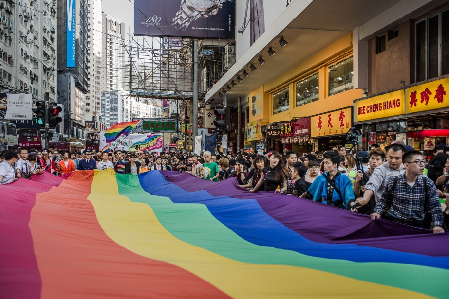 Ville ouverte et cosmopolite où une parade de... (PHOTO Philippe Lopez, archives agence france-presse)