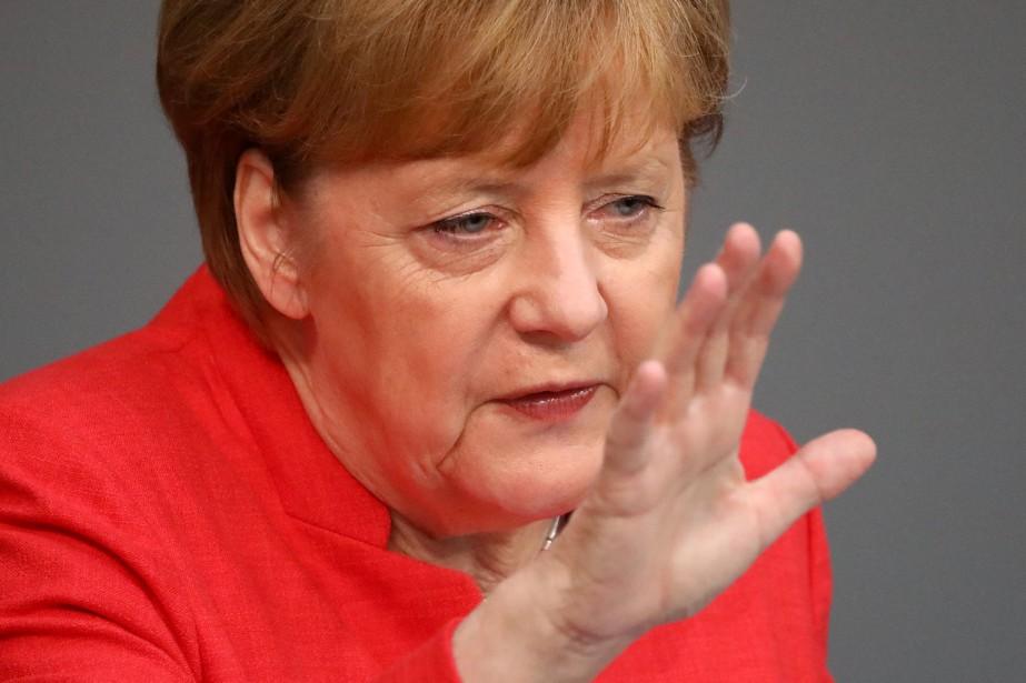 La chancelière allemande Angela Merkel... (REUTERS)