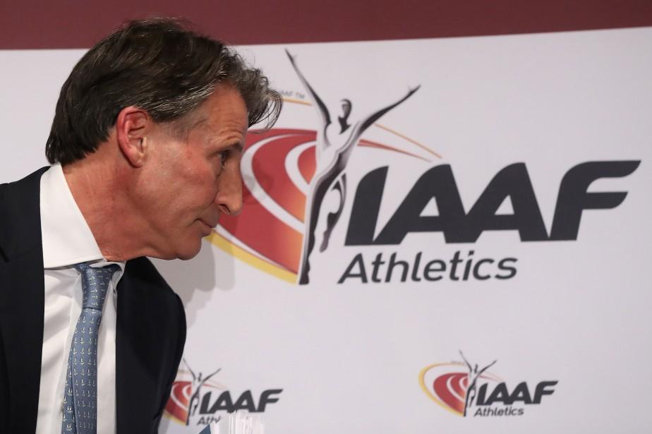 Le président de la Fédération internationale d'athlétisme (IAAF)... (Photo VALERY HACHE, ARCHIVE AFP)
