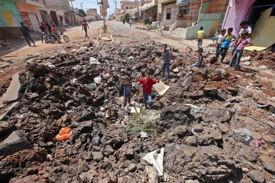 Les violences dans cette région ont fait entre... (Photo Youssef Karwashan, Agence France-Presse)