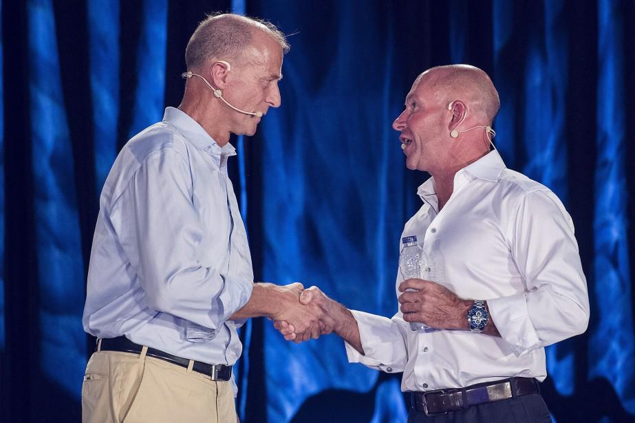 Le chef de la direction d'Airbus, Tom Enders,... (Photo Graham Hughes, La Presse canadienne)