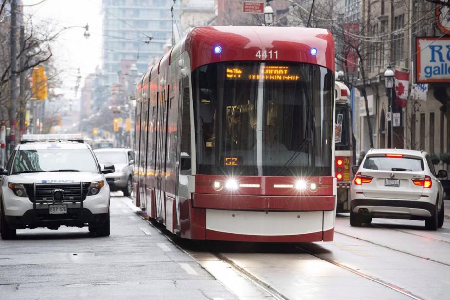 Les tramways concernés seront envoyés à l'usine de... (Photo Doug Ives, archives La Presse canadienne)