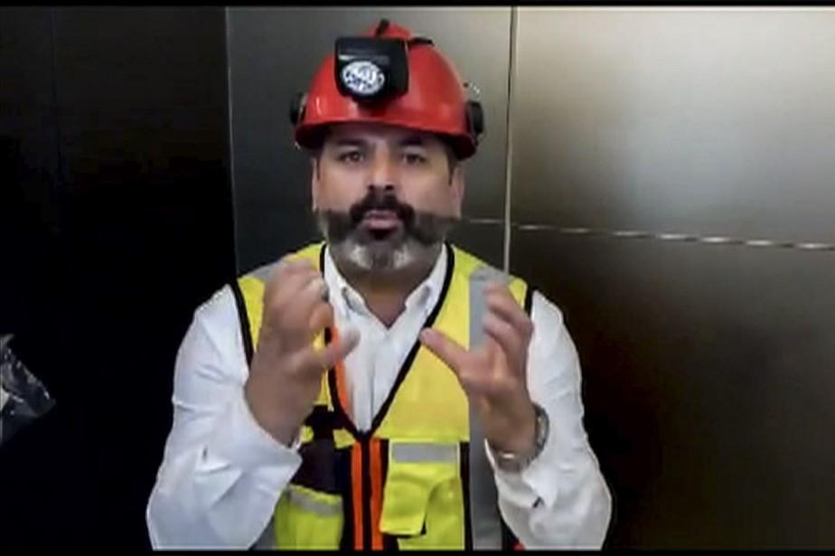 «Je vais faire mon possible. Je suis en... (photo tirée d'une vidéo de Mario SEPULVEDA, par l'entremise de l'AFP)