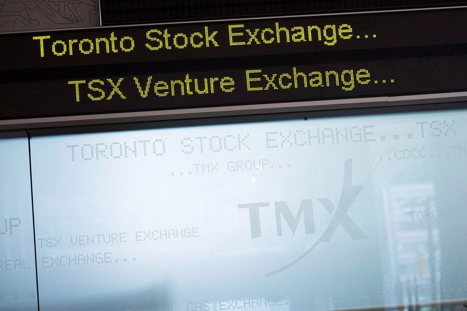 Dans l'ensemble, l'indice composé S&P/TSX du parquet torontois... (Photo Aaron Vincent Elkaim, archives La Presse canadienne)