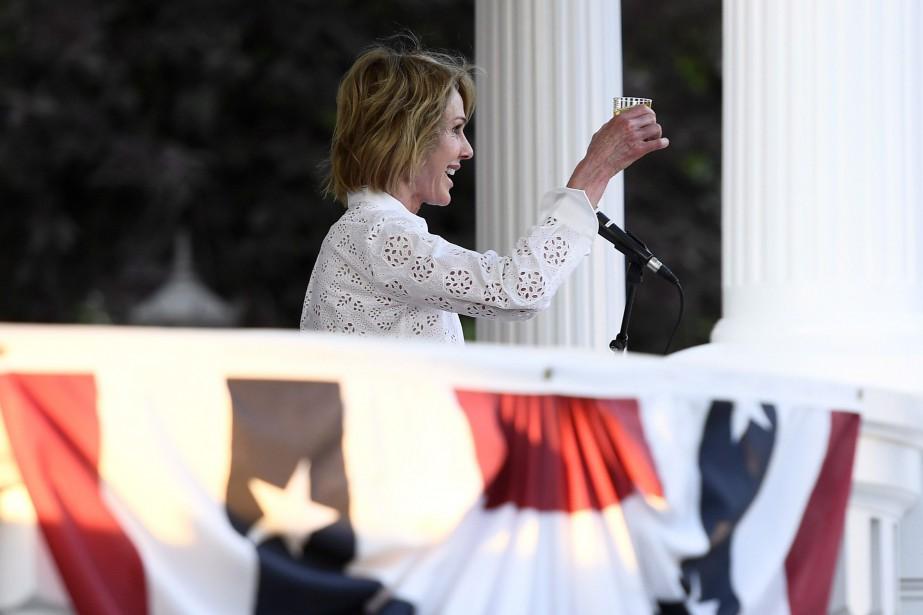L'ambassadrice des États-Unis au Canada, Kelly Craft... (Photo Justin Tang, LA PRESSE CANADIENNE)