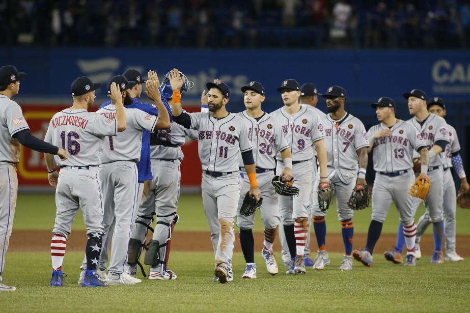 Les Mets vont jouer au Citi Field d'ici... (Photo John E. Sokolowski, USA TODAY Sports)