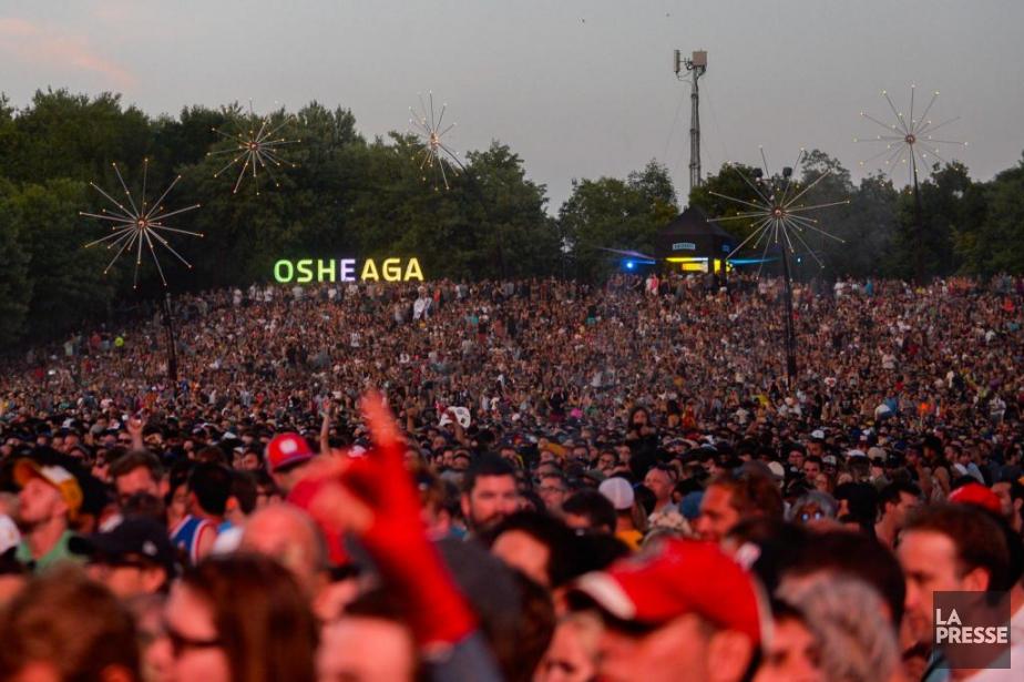 «Le festival de musique Osheaga, au parc Jean-Drapeau,... (Photo Catherine Lefebvre, La Presse)