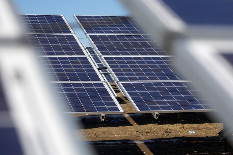 Le parc solaire à construire au Texas ajoutera... (Image tirée du site d'Innergex)