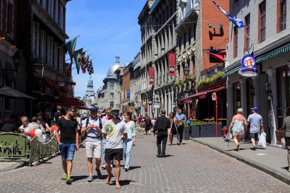 Le Vieux-Montréal fait partie des secteurs de l'arrondissement... (Photo Edouard Plante-Fréchette, Archives La Presse)