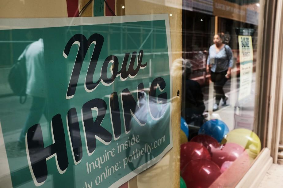 «Le marché du travail continue de se diriger... (AFP)