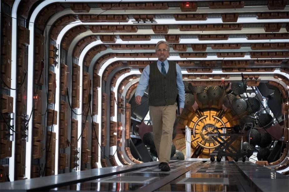 Michael Douglas reprend son rôle du docteur Hank... (Photo fournie par Disney Pictures)