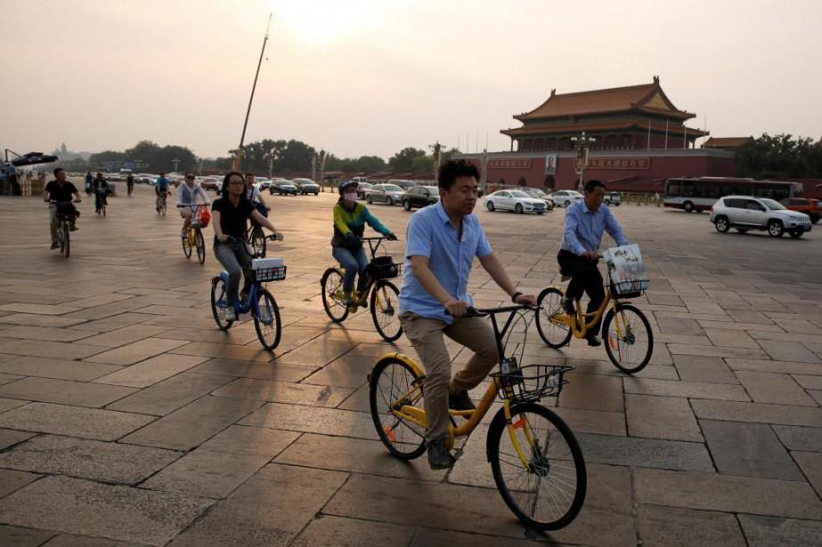 La place Tiananmen... (PhotoThomas Peter, archives Reuters)