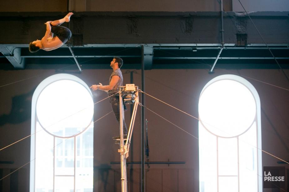 La direction de la troupe de cirque Les... (PHOTO FRANÇOIS ROY, LA PRESSE)