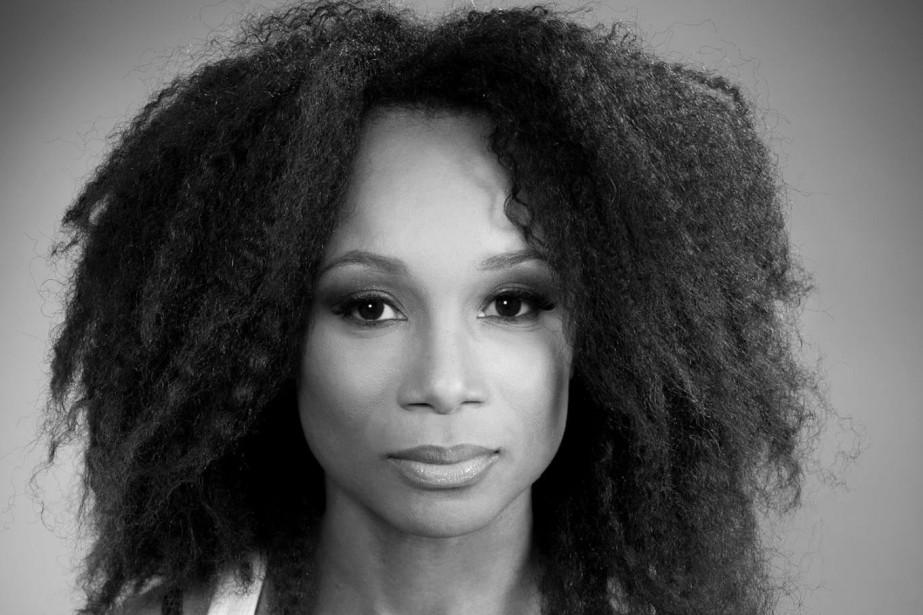 Kattia Thony, l'une des deux comédiennes noires à... (Photo tirée de Facebook)