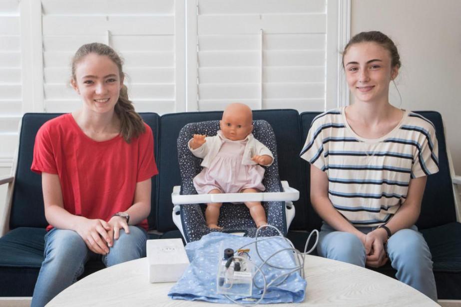 Les soeurs Marie-Pier et Sophie Vermette-Lacroix sont déterminées... (Photo Ivanoh Demers, La Presse)
