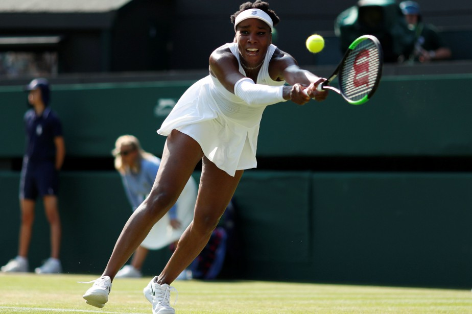Venus Williams, joueuse la plus expérimentée du tournoi... (Photo Andrew Boyers, Reuters)