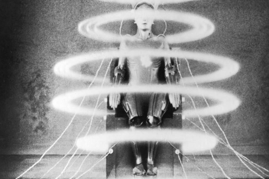 Image du film muet Metropolis de Fritz Lang.... (Photo fournie par La Presse canadienne)