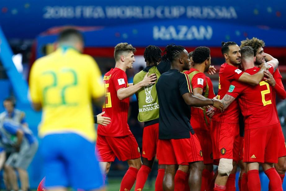 La Belgique aura rendez-vous avec la France en... (Photo Benjamin Cremel, Agence France-Presse)