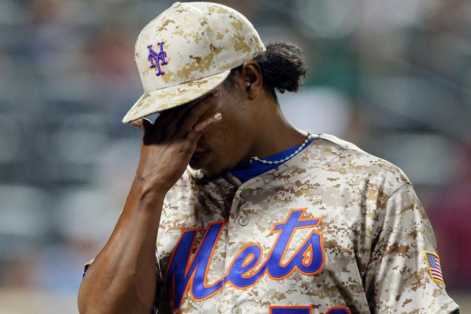 Jenrry Mejia... (Photo Brad Penner, archives USA TODAY Sports)
