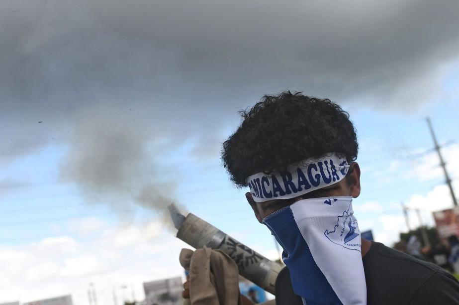 Le Nicaragua est secoué depuis deux mois et... (PHOTO MARVIN RECINOS, AFP)