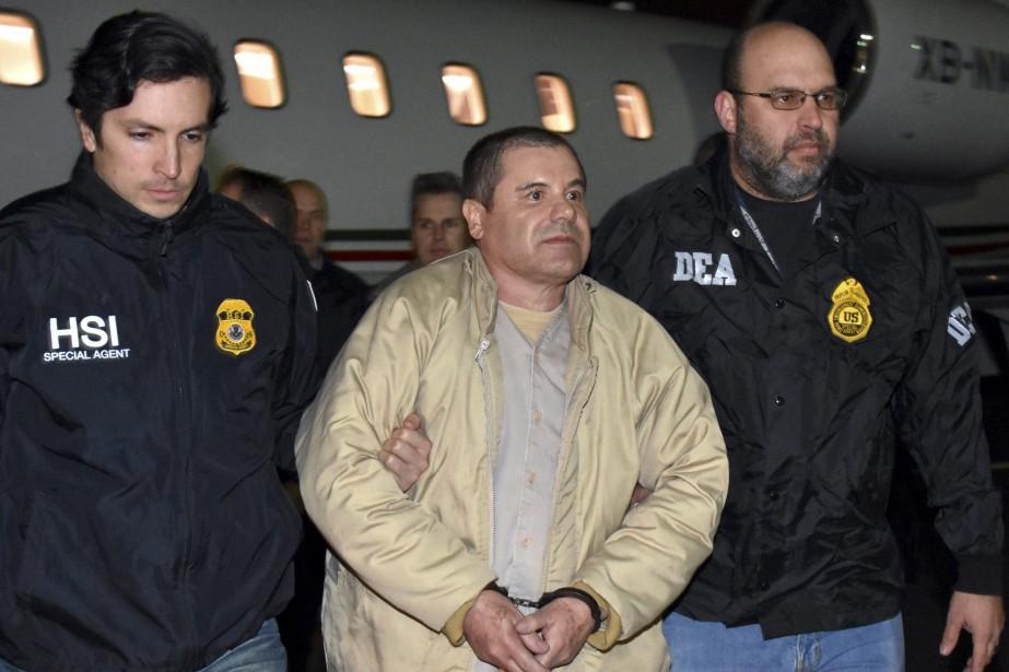 El Chapo, 61 ans, est accusé d'avoir dirigé... (Photo Archives AP)