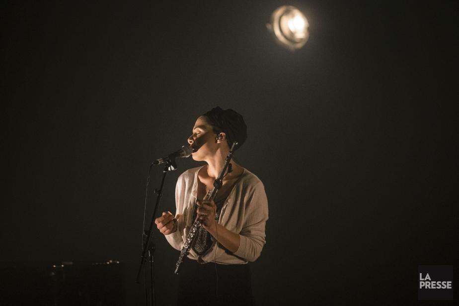 Mélanie De Biasio... (photo OLIVIER PONTBRIAND, LA PRESSE)