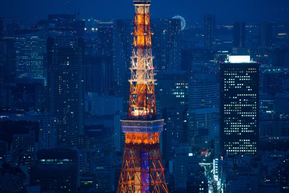 Le centre-ville de Tokyo.... (Photo Bloomberg)