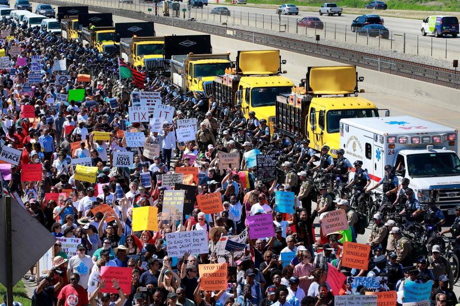 Chicago a enregistré 254 meurtres pendant les six... (AFP)