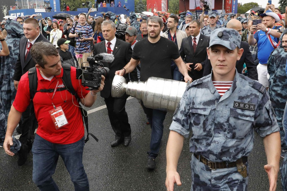 Le capitaine des Capitals de Washington espérait une... (Photo Tatyana Makeyeva, Reuters)