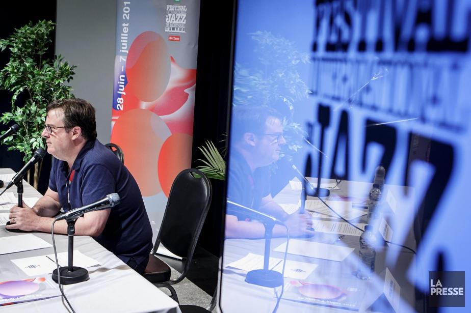 Jacques-André Dupont, le PDG du Festival de jazz,... (PHOTO ALAIN ROBERGE, LA PRESSE)