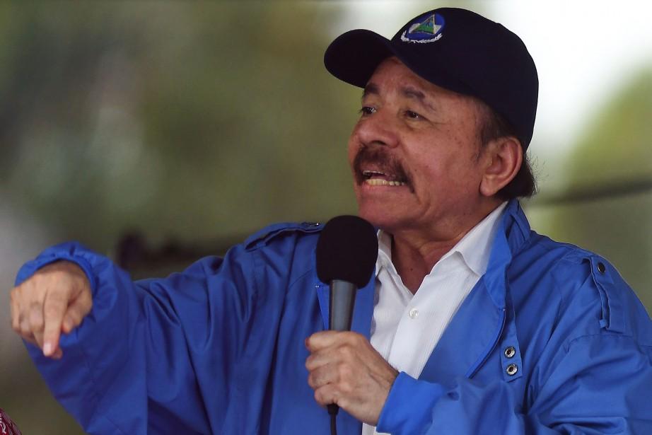 Le président du Nicaragua Daniel Ortega... (PHOTO Marvin RECINOS, AFP)