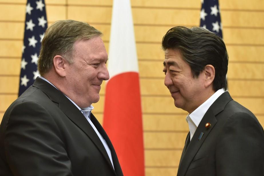 Le secrétaire d'État américain Mike Pompeo a rencontré... (PHOTO Kazuhiro NOGI, AFP)
