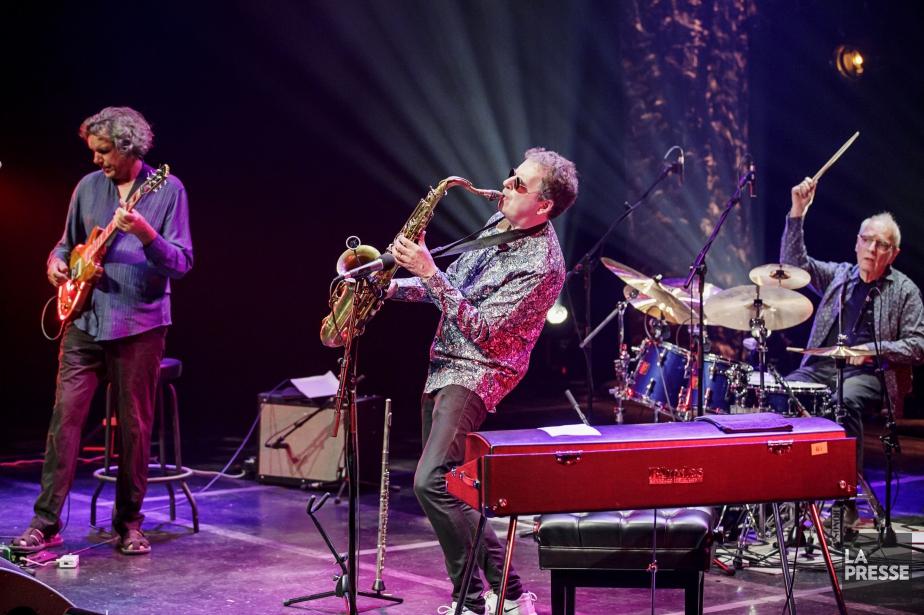 Le groupe Soft Machine... (PHOTO ALAIN ROBERGE, LA PRESSE)