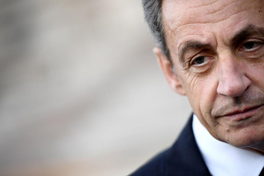 L'ancien président français Nicolas Sarkozy.... (FRANCK FIFE, archives AFP)