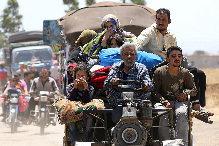 Depuis le début du 19 juin des hostilités,... (Alaa Al-Faqir, archives REUTERS)
