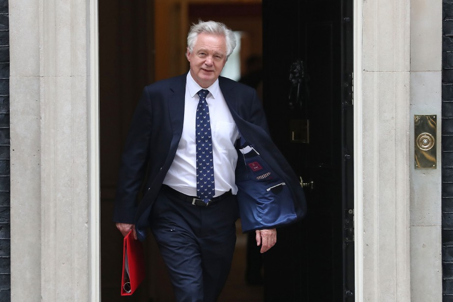 David Davis... (ARCHIVES AFP)