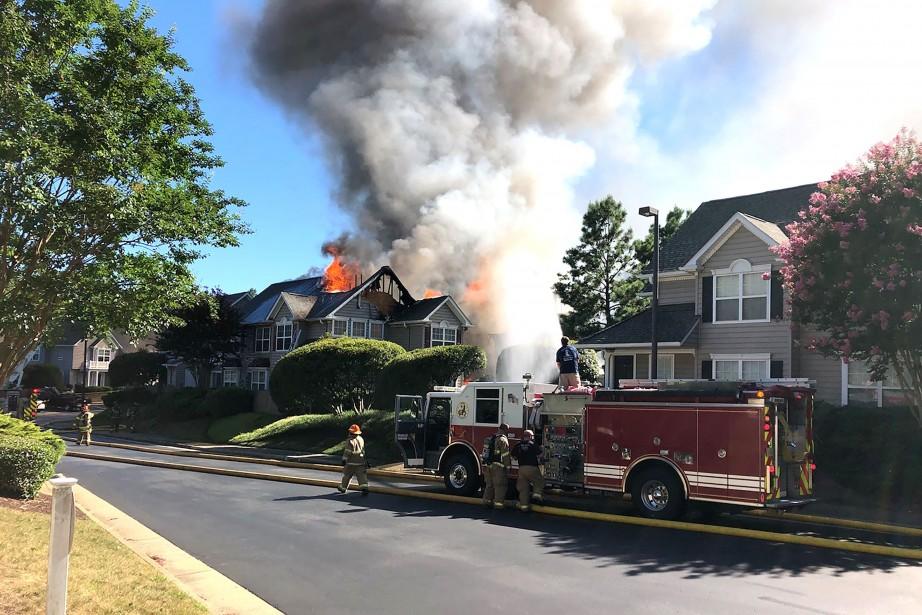 L'incident s'est produit dans la ville de Williamsburg.... (PHOTO AFP)