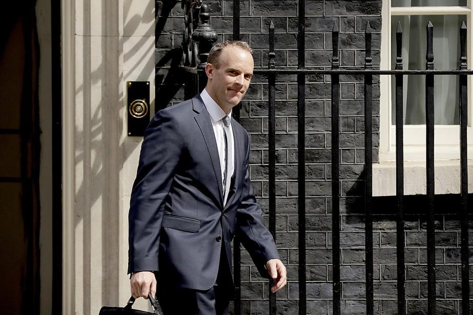 L'eurosceptique Dominic Raab a été nommé lundi ministre... (Matt Dunham, AP)