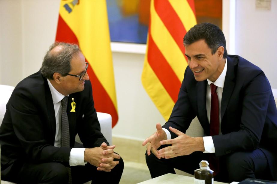 Le nouveau chef du gouvernement espagnol Pedro Sanchez... (AP)