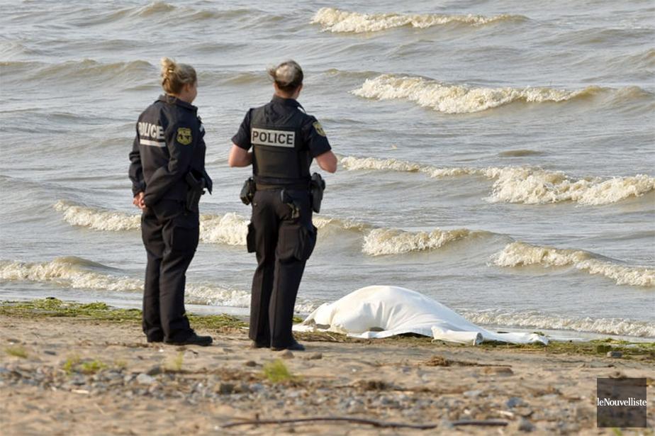 Le corps d'une femme a été repêché dans... (François Gervais, Le Nouvelliste)