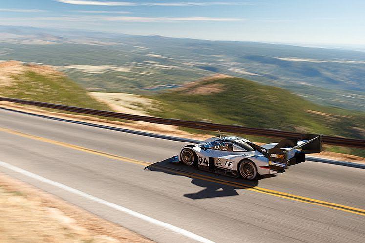 L'I.D. Pikes Peak roule vite mais elle émet... (Photo Volkswagen)