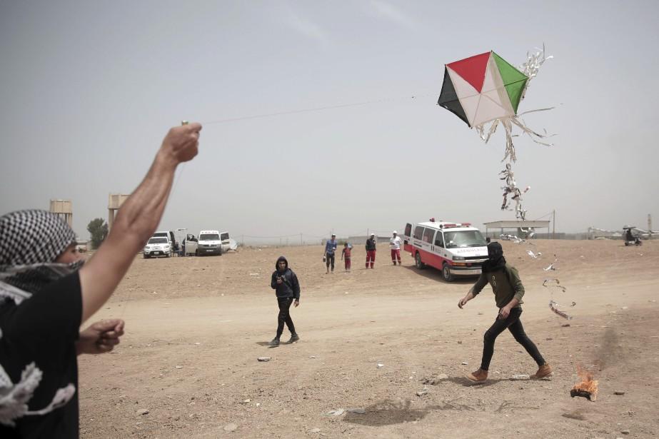 Les autorités israéliennes peinent à enrayer la vague... (Photo Archives AP)
