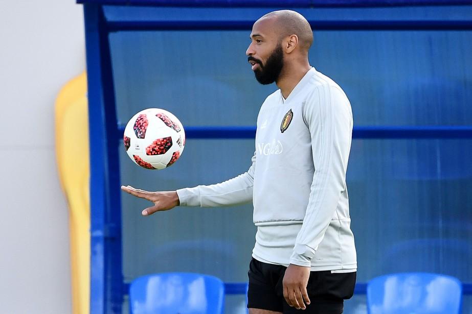 L'ex-attaquant vedette de la France Thierry Henryest devenu... (Photo Franck Fife, AFP)