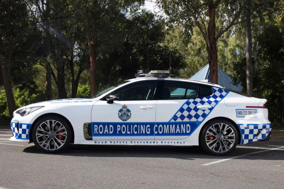 La police de l'État du Queensland roulera en Kia Stinger GT | 9 juillet 2018