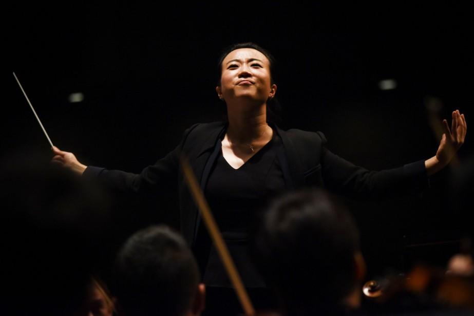 À 36 ans, Jing Huan s'apprête à monter... (Photo AFP)
