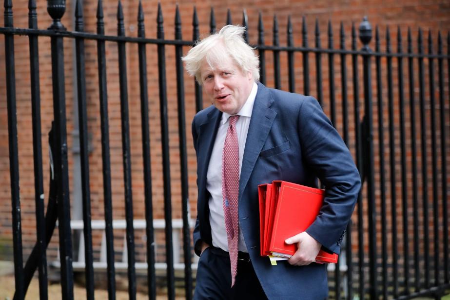 Dans sa lettre de démission, Boris Johnson a... (Photo archives AFP)