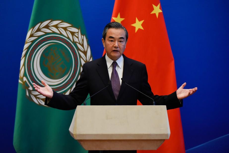Le président chinois Xi Jinping s'exprimait devant les... (AFP)