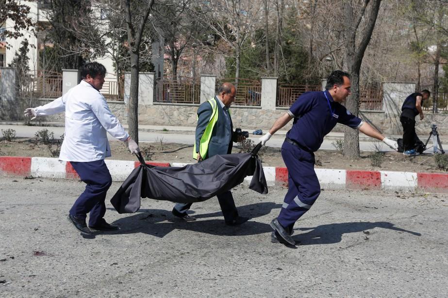 Attahullah Khogyani, un porte-parole du gouvernement provincial, a... (Photo Archives REUTERS)