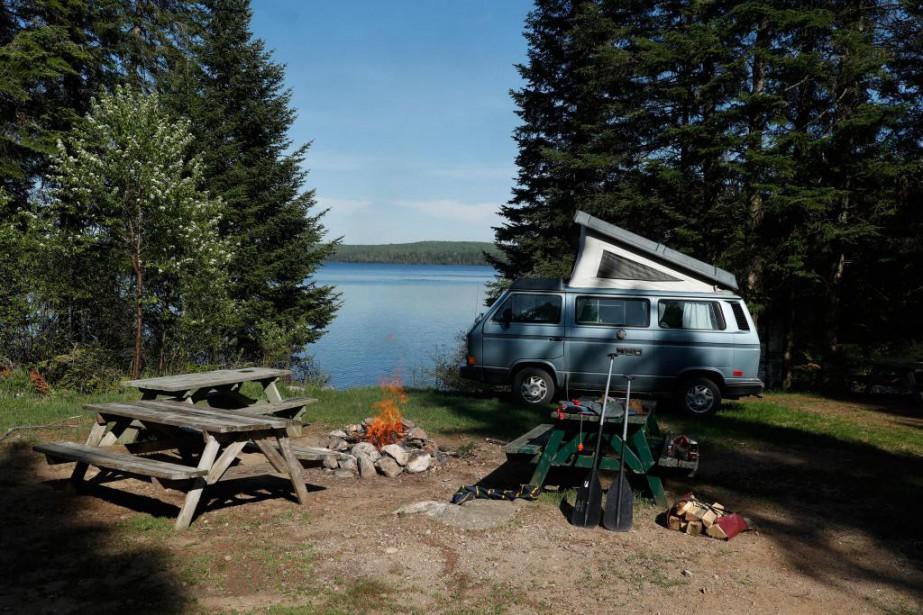 Un lac juste pour soi:c'est le genre de... (Photo Martin Chamberland, La Presse)